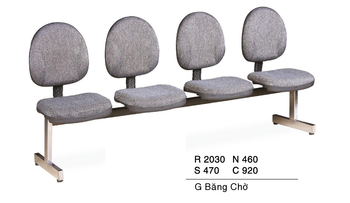 Ghế phòng chờ giá rẻ TG 6104N