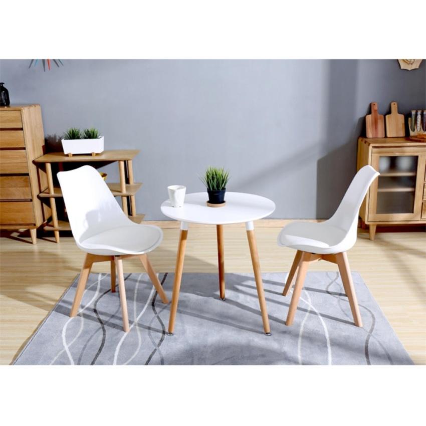 Bộ bàn ghế cafe gỗ TG 9104B