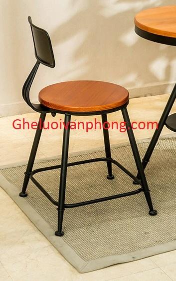 Ghế sắt ngồi quán cafe tg7712