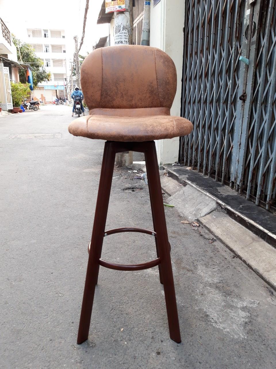 Ghế quầy bar chân sắt tg9802