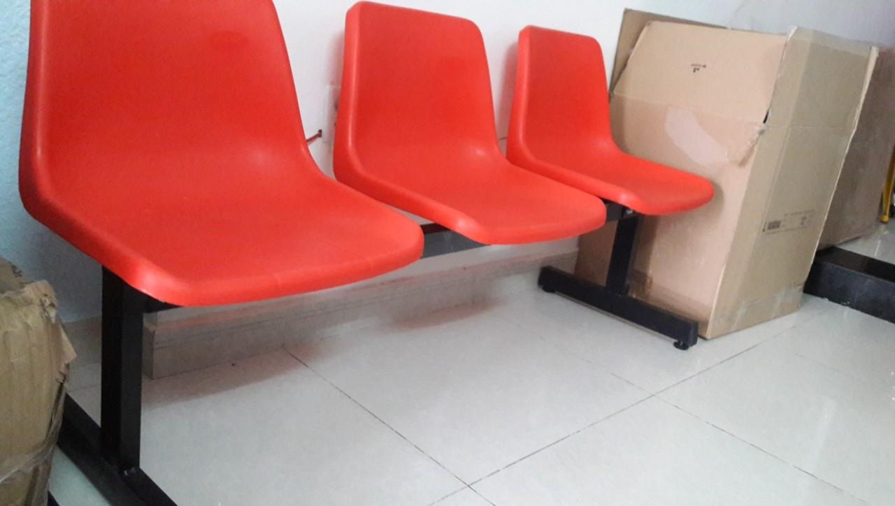 Ghế băng chờ nhựa 3 chỗ tg2703