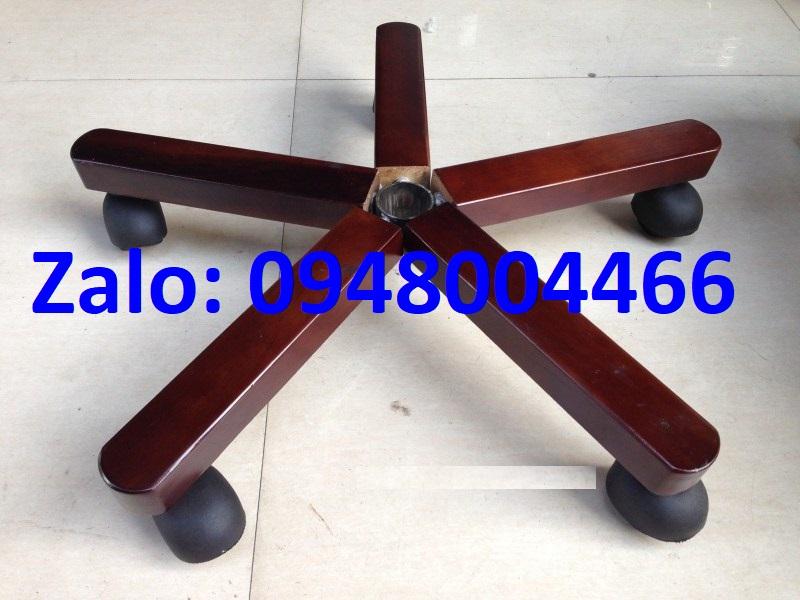 Chân ốp gỗ ghế giám đốc tg3360g