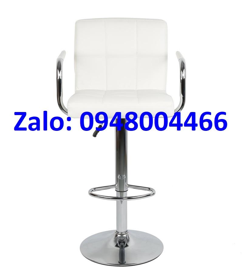 Ghế quầy bar màu trắng tg9988ct